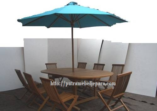 Meja Payung Santai Outdoor Furniture