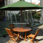Set Meja Payung Outdoor
