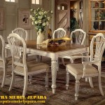 Set Meja Kursi Makan Victorian Furniture